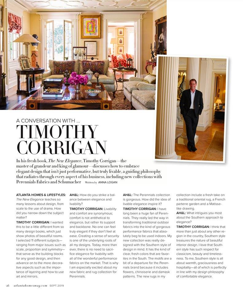 Timothy Corrigan Atlanta Homes