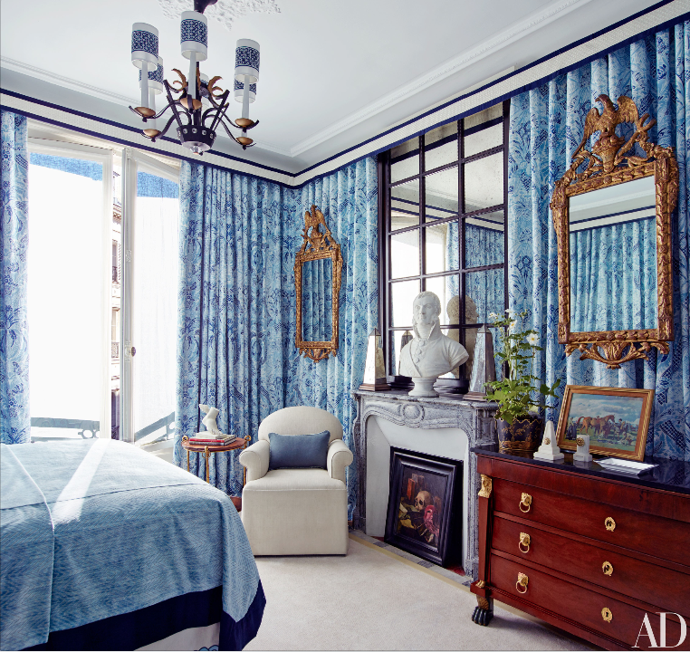 Average Nyc Apartment Bedroom Master Bedroom Design Ideas Nz Bedroom Chair Bedroom With Black Curtains: Architectural Digest, April