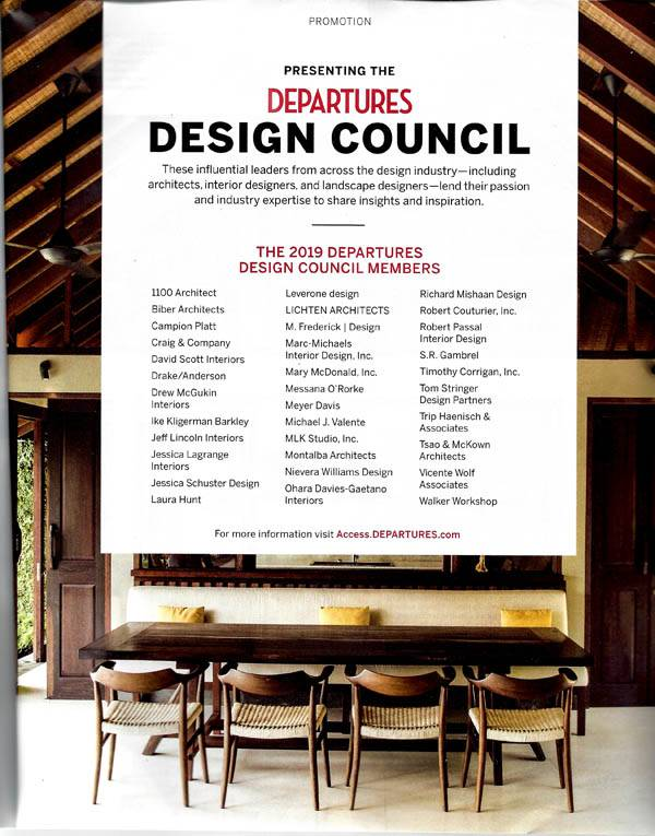 Departures Design Council Timothy Corrigan