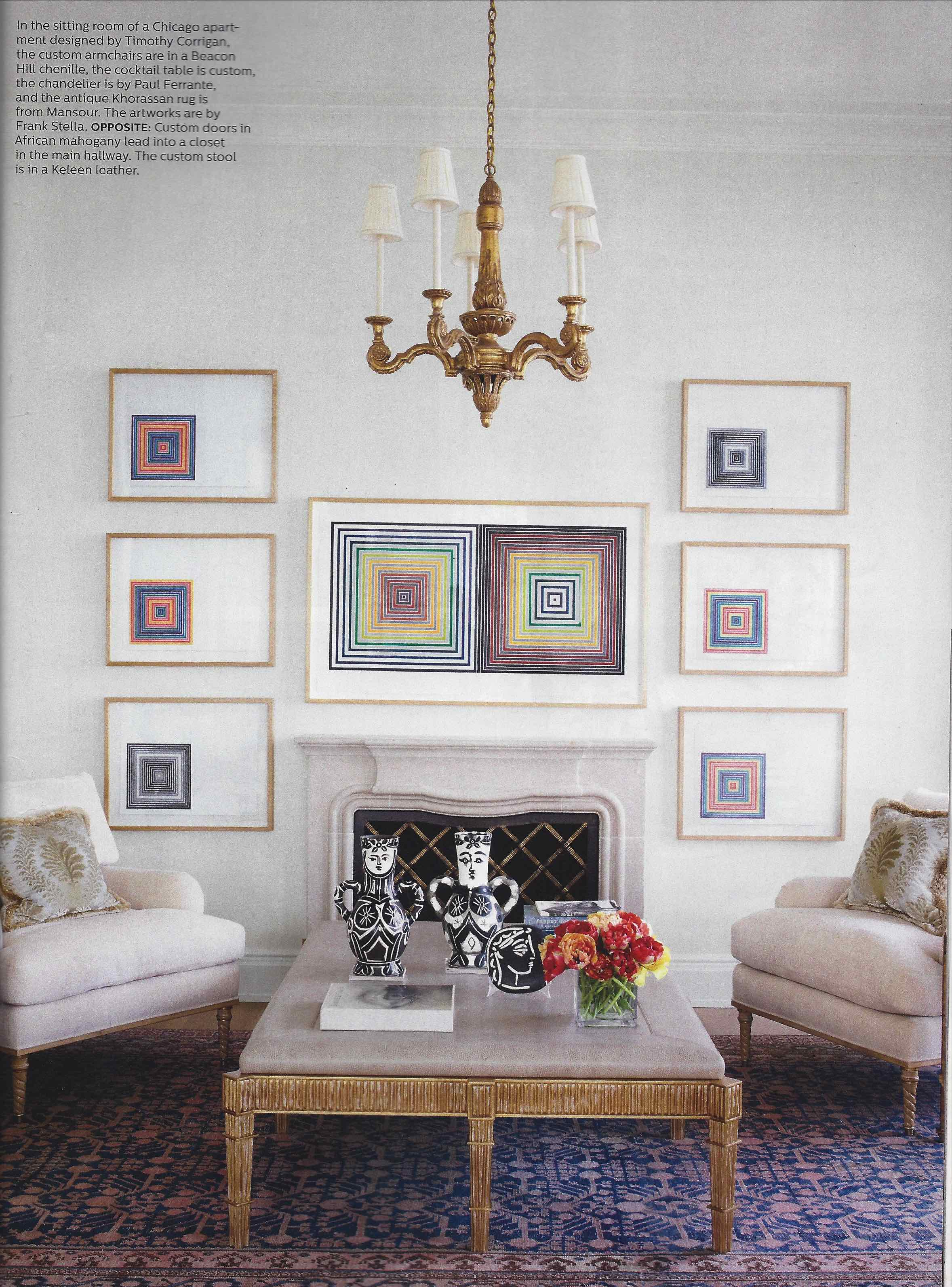Elle Decor Timothy Corrigan