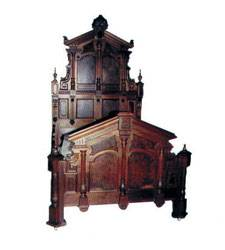 English Renaissance Revival Bed