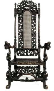 British Baroque Chair