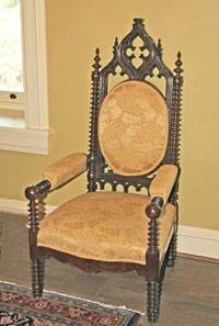 English Gothic Revival Chair