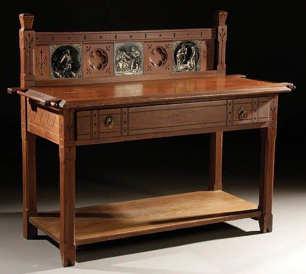 Captivating English Medieval Revival Table