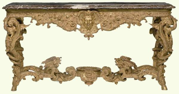 Louis Xiv Console Table