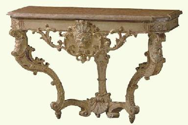 French Regence Console Table