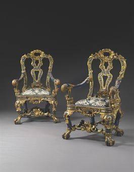 Italian Settocento Rococo Chair