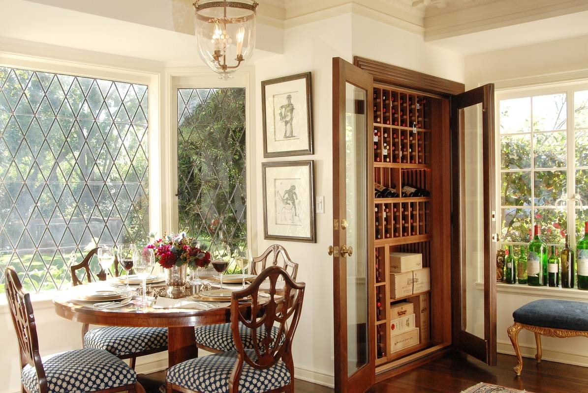 Dining rooms interior design photo gallery timothy for Wine pictures for dining room