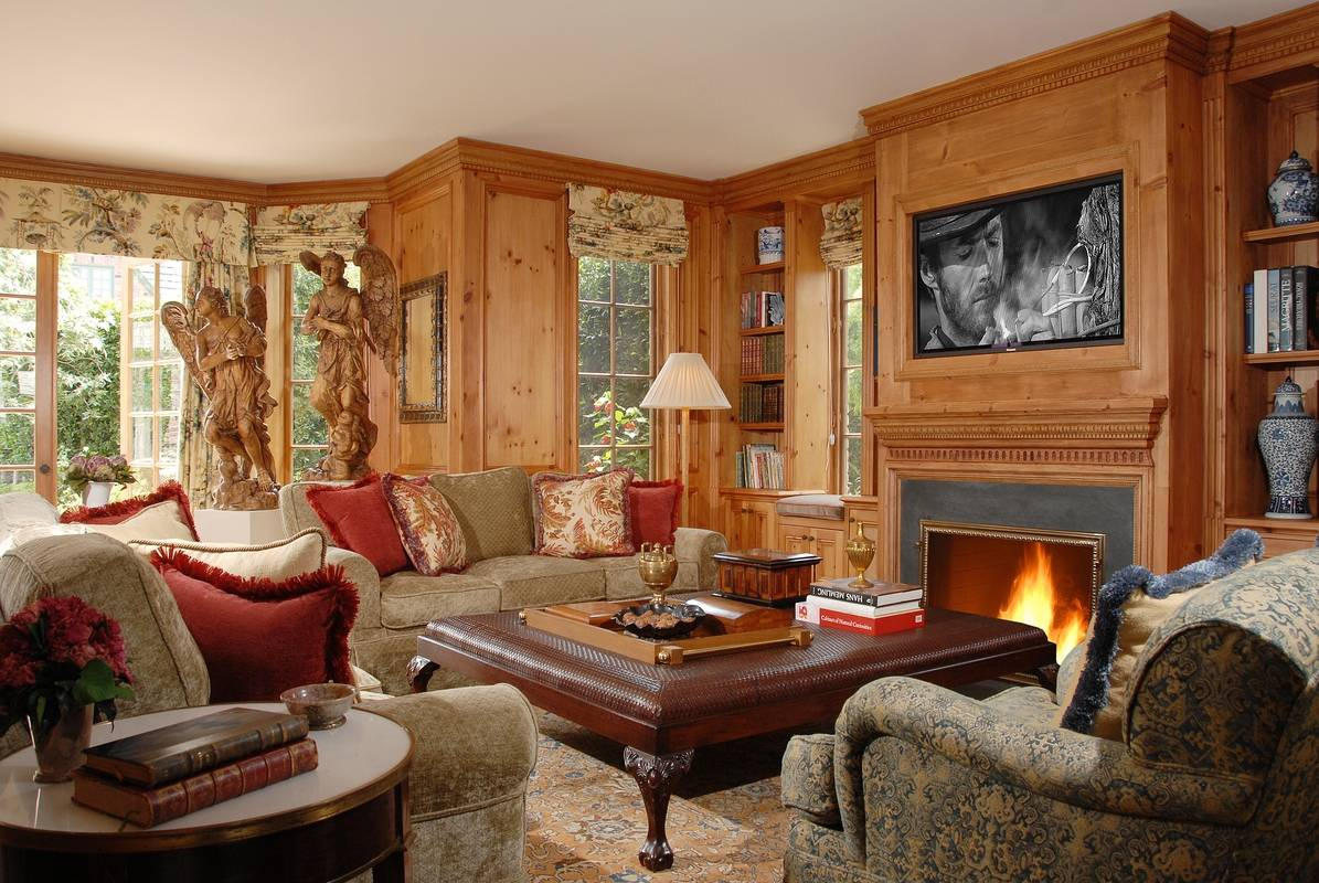 Libraries and family rooms interior design photo gallery - Interior home design ideas pictures ...