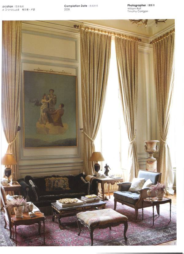 Classic Interior Design press - interior design news - interior design in french classic